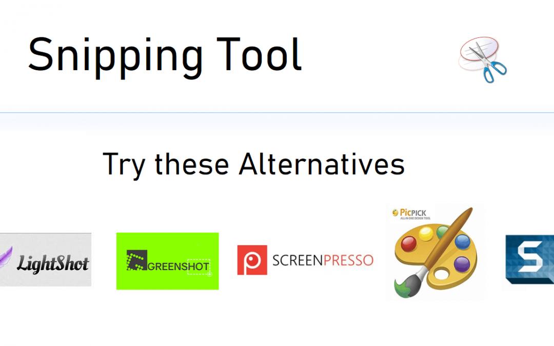 Snipping Tool Alternative