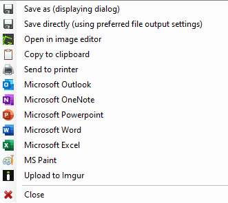 How to use Greenshot
