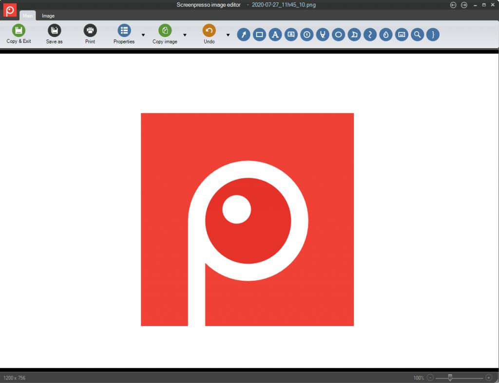 Take Screenshots using Screenpresso