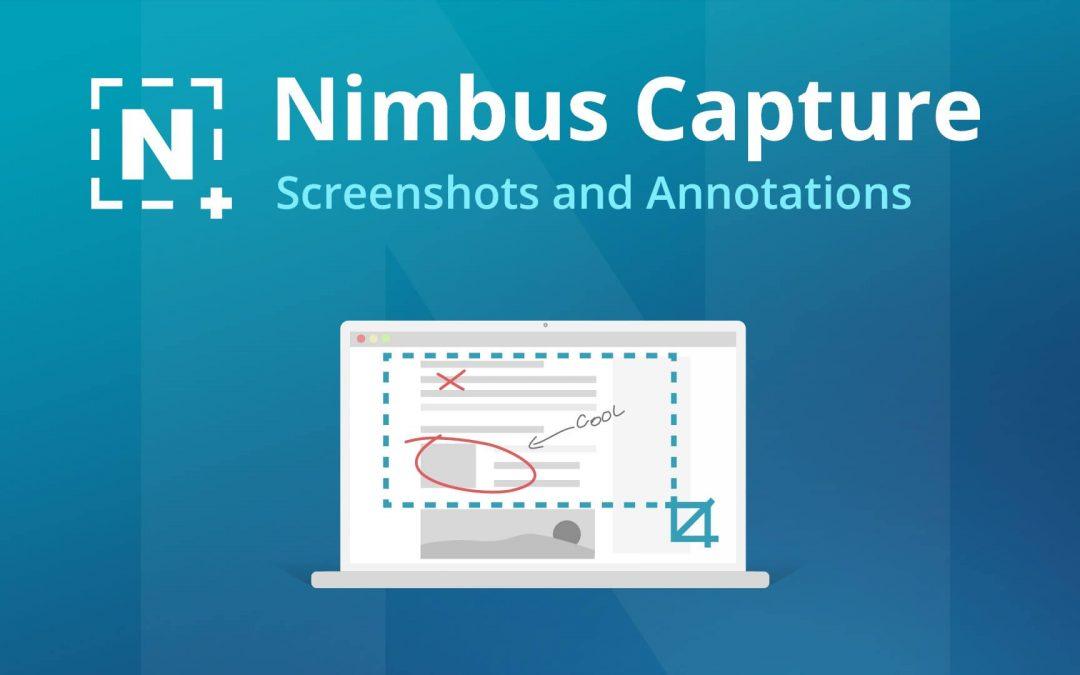 Nimbus Screenshot Review: Screen Capture and Recording Tool