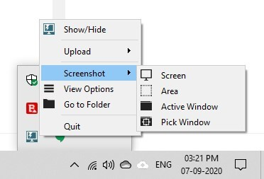 How to use Lightscreen