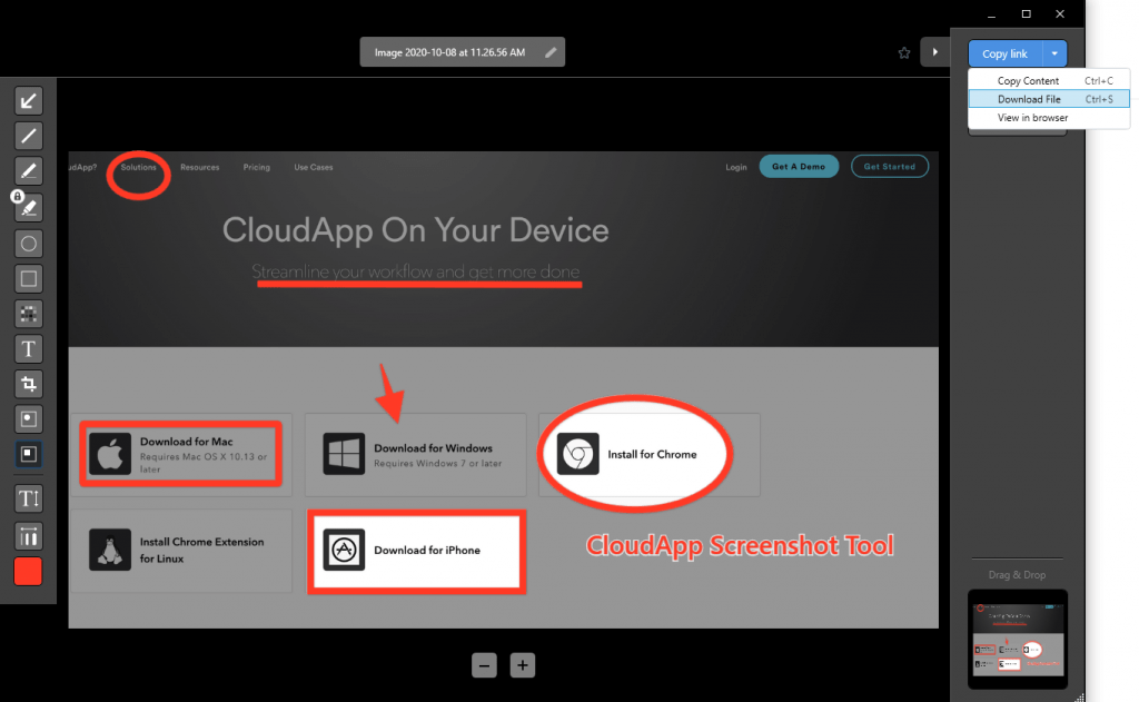 Screenshot Annotation Tool