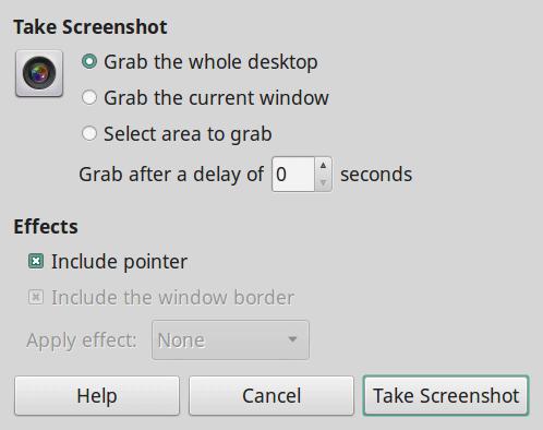 GNOME Screenshot