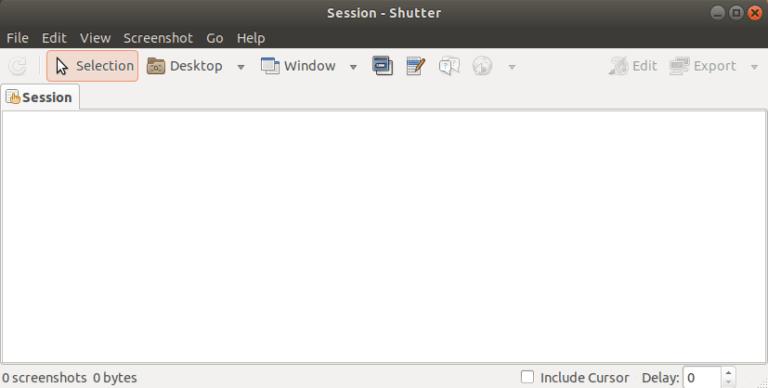 Take Screenshots using Shutter